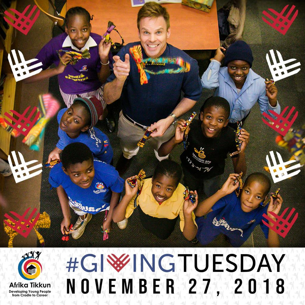 Giving Tuesday for Afrika Tikkun